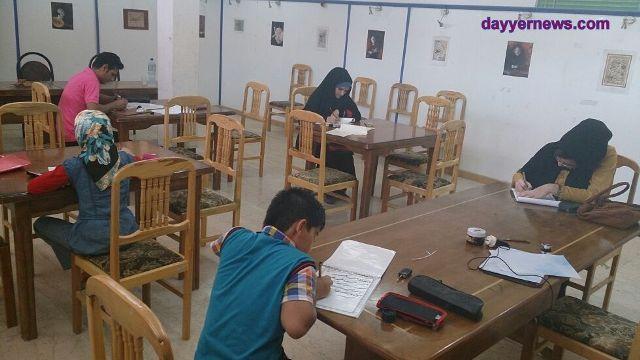 تصاویر/ برگزاری آزمون انجمن خوشنویسان بندر دیّر